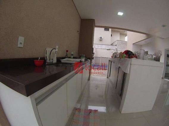 Casa Residencial À Venda, Parque Residencial Damha V, São José Do Rio Preto. - Ca1188