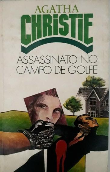 Livro Agatha Christie Assassinato No Campo De Golfe Capa Du