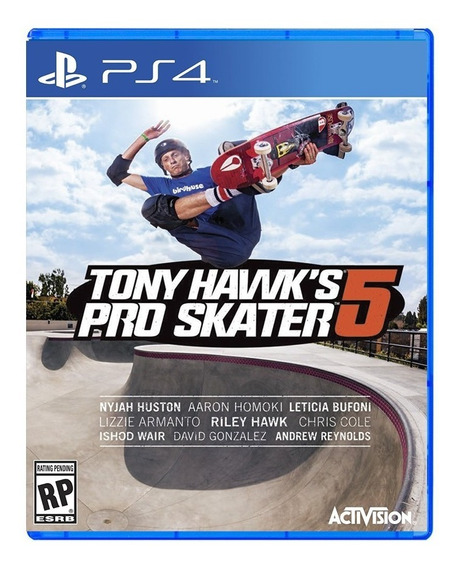 Ps4 Tony Hawk Pro Skater 5