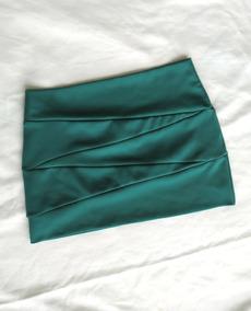 Minifalda Dama Verde Chica