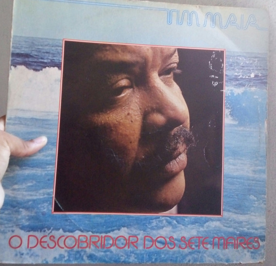 Lp Vinil Tim Maia - O Descobridor Dos Setes Mares(soul/1983)