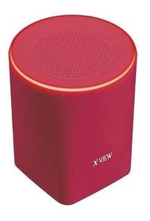 Parlante Backbone X View Bluetooth 3w Manos Libres Mic. Rojo