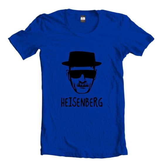 Camiseta Camisa Ou Baby Look Série Breaking Bad Heisenberg