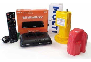 Receptor Midiabox B3 Com Lnbf Multiponto Super Digital