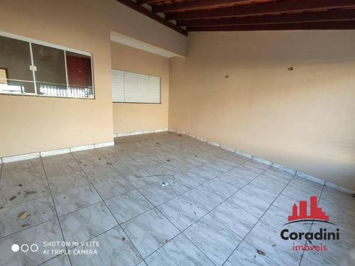 Imagem 1 de 19 de Casa Com 3 Dormitórios À Venda, 160 M² Por R$ 430.000,00 - Jardim Nossa Senhora De Fátima - Nova Odessa/sp - Ca1939