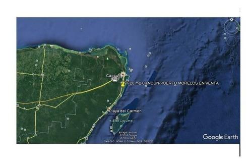 Imagen 1 de 3 de Se Vende Terreno En Cancun Carretera Puerto Morelos