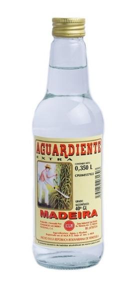 Aguardiente Extra Madeira Blanco Botella 0,35lts 350ml Cln