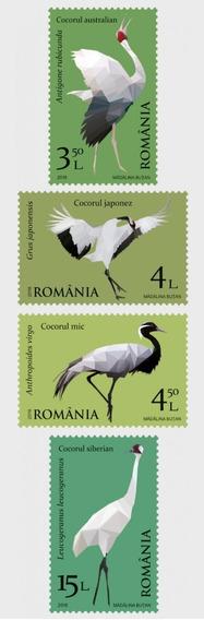 2018 Fauna- Aves Migratorias - Rumania ( Sellos) Mnh