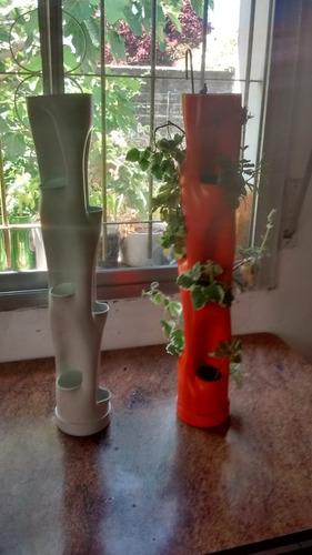 Jardin Vertical/ Huerto Urbano De 9 Bocas 66cm De Longitud