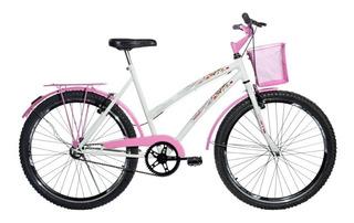 Bicicleta Feminina Passeio Aro 26 Aero Melissa Ello