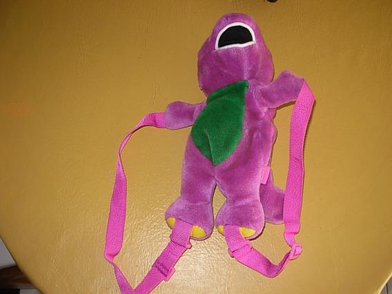 Mochila/pelucha Infantil Barney