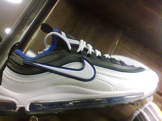 Tenis Nike Air Max 98 Branco E Preto Nº38 Ao 43 Original