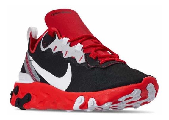 Nike React Element 55 28mx Black Red