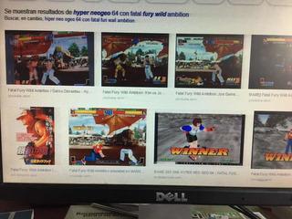 Hiter Neo Geo 64 Con Fatal Fury Wild Ambition