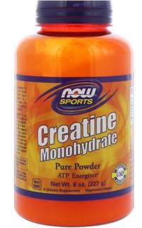 Creatina Monoidratada Now Foods 227 G Pronta Entrega