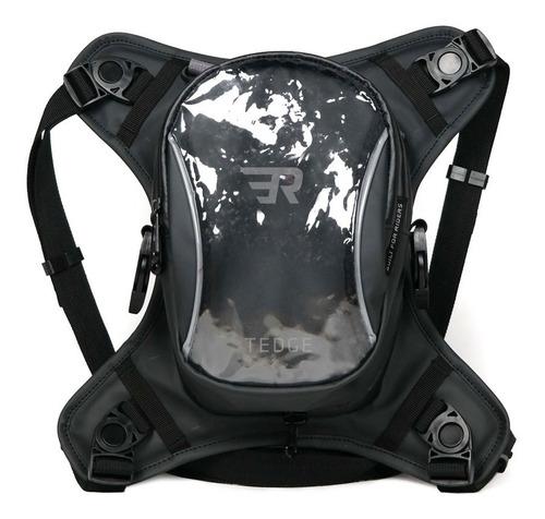 Bolsa De Tanque De Moto Impermeável Resistente 12lts Tedge