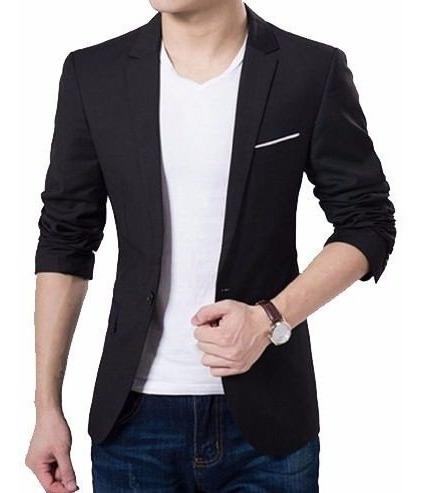 Terno Masculino Slim Fit Preto Oxford Modelo Italiano Preto