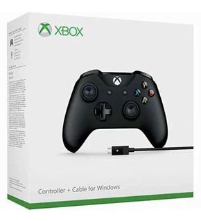 Control Xbox One + Cable Windows Nuevo Sellado Envio Gratis