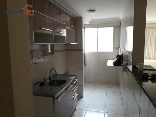 Lindo Apartamento Com 3 Dormitórios À Venda, 136 M² Por R$ 325.000 - Jardim Paraíso Do Sol - São José Dos Campos/sp - Ap8007