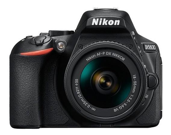 Rosario Camara Reflex Nikon D5600 Kit 18-55 Nuevas Garantia