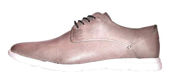 Zapato Casual Vestir Cuero Base Eva Liviana (700e)
