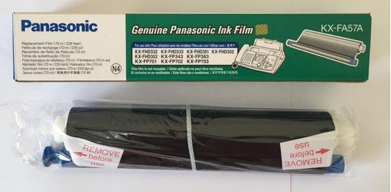 Filme Para Fax Panasonic Kx-fa57a Kx-fhd332 Lacrado Vencido