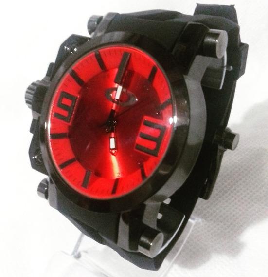 Relógio Oakley Masculino Vidro De Titanium Novo