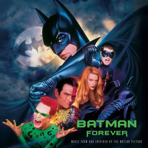 Soundtrack Batman Forever Vinilo Doble 2 Lp Nuevo En Stock