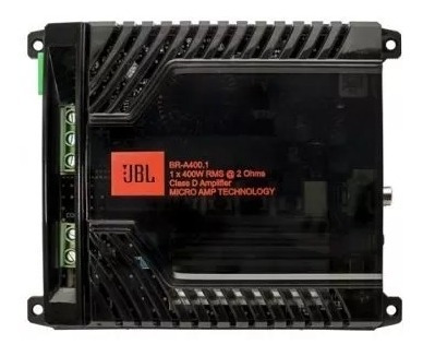 Módulo Amplificador Jbl Br-a 400.1 400w Rms 1 Canal 2 Ohms