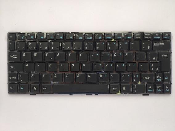 Teclado Itautec W7030 Netbook Infoway Portugues Br Black Ç P/n 0kn0-xc3br08