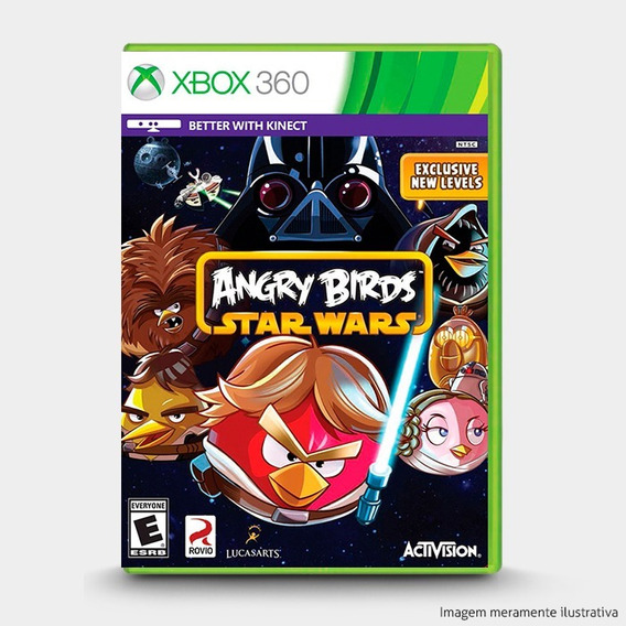 Angry Birds Star Wars - Original Para Xbox 360 - Novo