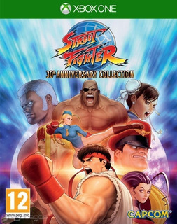 Street Fighter 3oth Aniversary Off Line Xbox One
