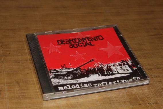Cd Deskontento Social - Melodias Reflexivas (ep)