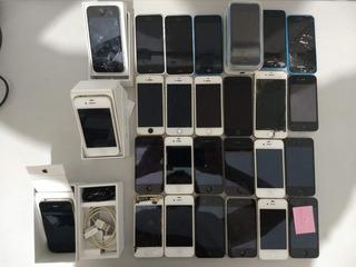 Lote Com 27 Iphones Para Conserto Ou Retirar Peças