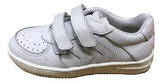 Zapatillas Cavatini Doble Flor Blanco - 24-6502