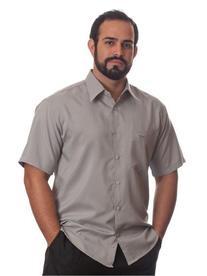 Revender Camisas Socais Masculinas Manga Curta Kit 30 Peças