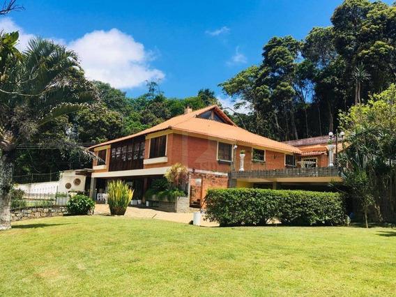 Casa À Venda, 600 M² Por R$ 1.380.000,00 - Golfe - Teresópolis/rj - Ca0756