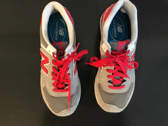 Oferta - New Balance - Zapatillas Modelo 574 Grises Talle 39