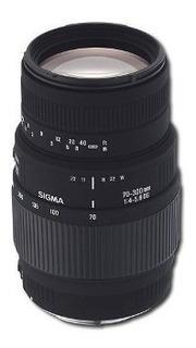 Sigma - 70-300 Mm Macro Dl Dg Lente Para Sony Cámara Digital