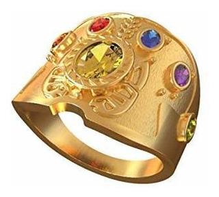 Vengadores Thanos Anillo Infinity War - Joya Soul Piedras An