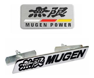 Kit Emblema Acessórios Honda Mugen Power Civic Cr-v Accord