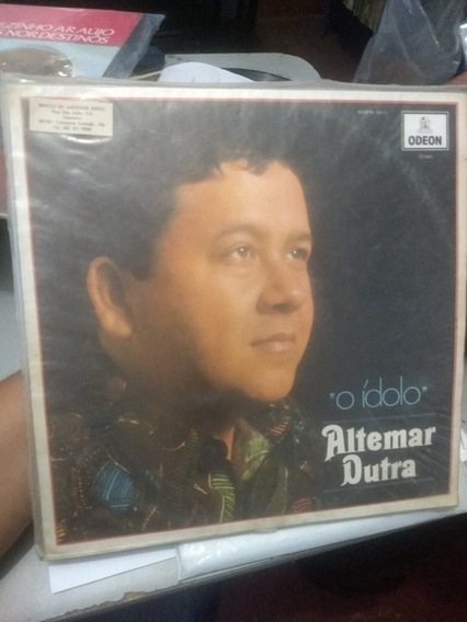 Disco Lp Altemar Dutra - O Ídolo