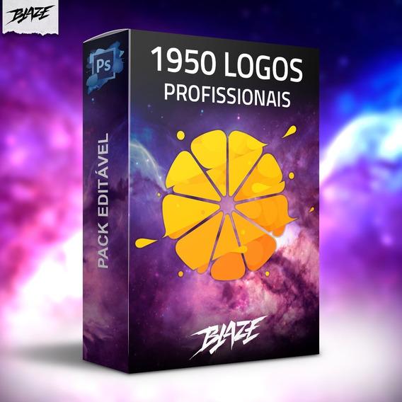 1.950 Logo Editável Photoshop Psd + Brinde
