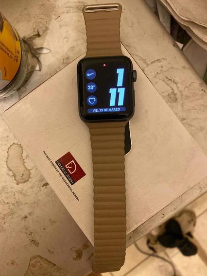 Apple Watch Series 3 De 42mm Gris Espacial Y ¡¡8 Correas!!