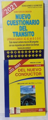 Pack Conductor Y Ensayo Cuestionario Y Preguntas 2 Libros