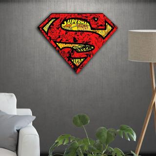 Cuadros Madera Dc Comics Superhéroe Superman Varios Modelos