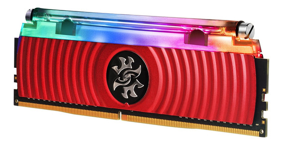 Memoria Ram 16gb Xpg Spectrix D80 Liquid-cooled Rgb Ddr4 3200mhz (2x8gb) 288-pin Pc4-25600 U-dimm Retail Kit (ax4u320038