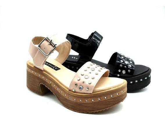 Sandalias Mujer Zapatos Tachas Moda Savage Art Sofi-9