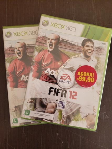 Fifa 12 Xbox 360 Novo Lacrado