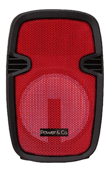 Bocina Bafle Bluetooth Power&co Xpl-8000rd Sin Envio